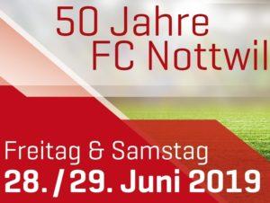 FC Nottwil feierte bei schönstem Wetter 50 Jahre Jubiläum