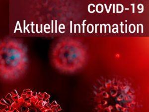 COVID 19 – Schutzkonzept für den Trainings- und Spielbetrieb