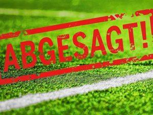 Spiel- und Trainingsbetrieb ab 29.10.2020 unterbrochen