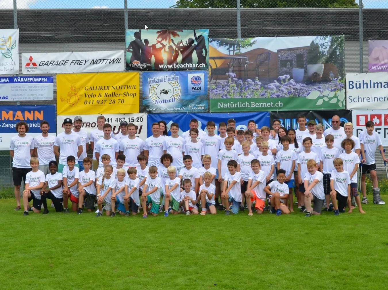 You are currently viewing Juniorenlager FC Nottwil in Willisau